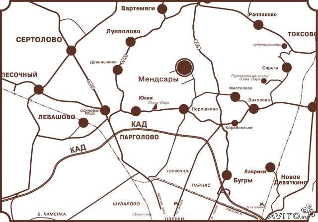 Земельный участок под ИЖС, Мендсары, Всеволожский район