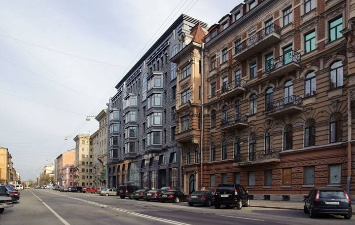 Трёхкомнатная квартира Центральный р-н Тверская ул д 1