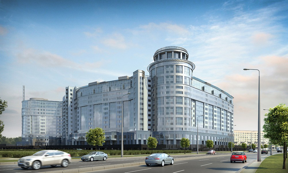 Двухкомнатная квартира в Красногвардейском р-не на Свердловской наб д54-58 в ЖК Платинум