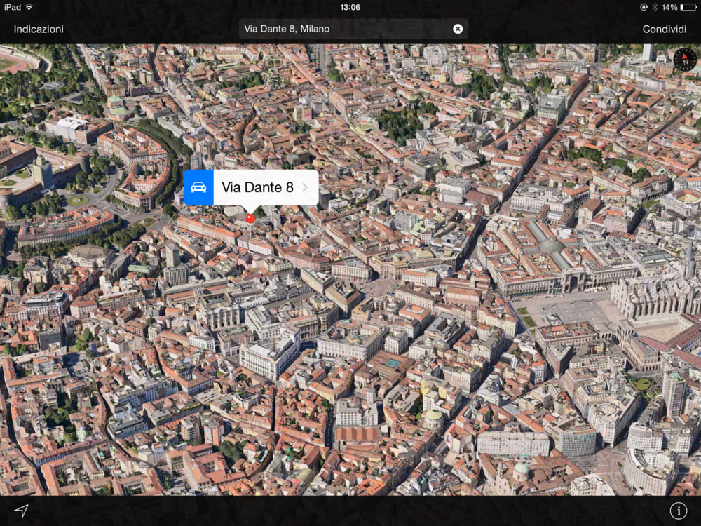 Дом в самом центре Милана