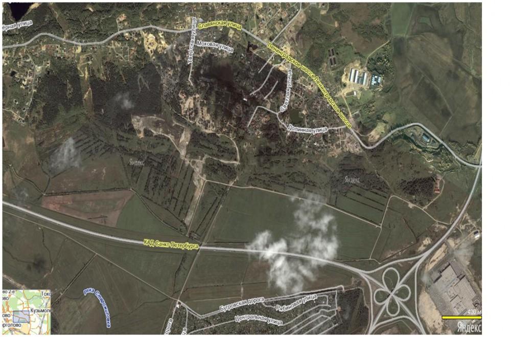 Земельный участок промышленного назначения  6,5 Га в Порошкино
