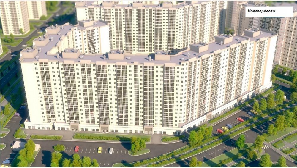 Однокомнатная квартира в Новогорелово