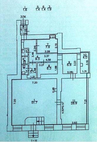 Продажа помещения на Васильевском острове 1линия
