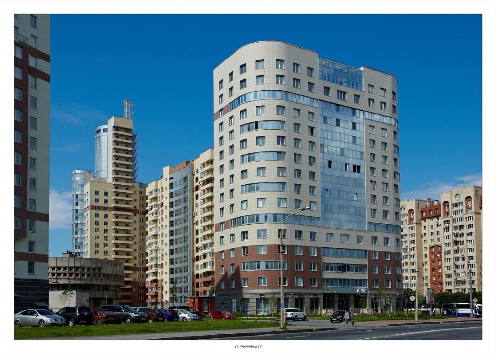 Двухкомнатная квартира  ул Нахимова д 20 в ЖК Морская Рапсодия