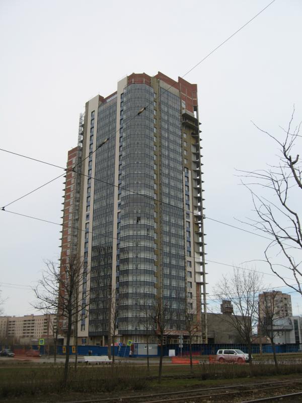 Однокомнатная квартира Выборгский р-н Актёрский прд ЖК Актёрский Олимп
