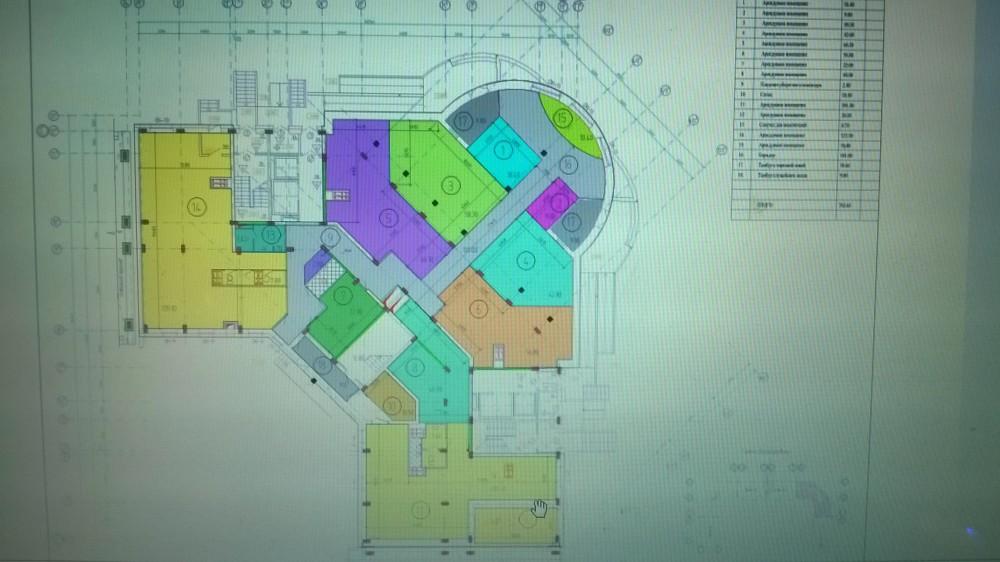Общая планировка 1 этажа