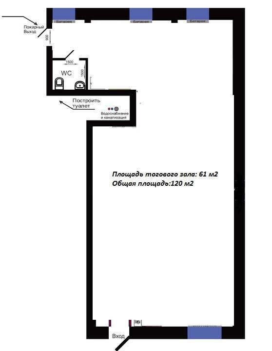 Планировка 120 кв.м