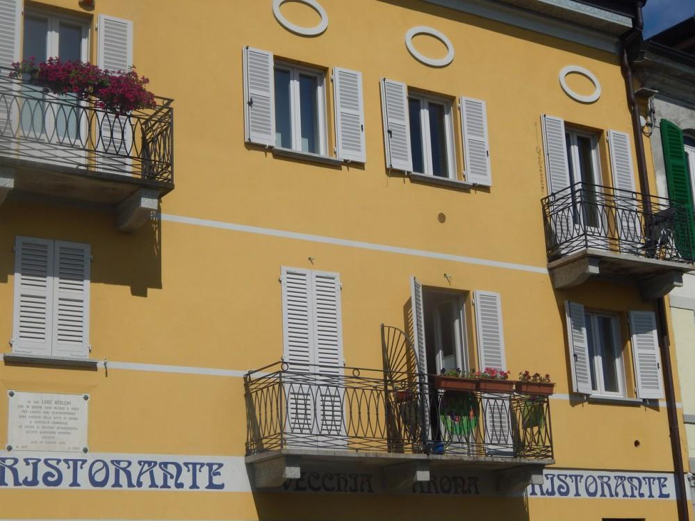 Апартаменты в г. Арона Италия