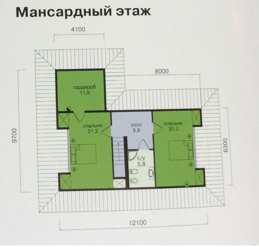 2-ой этаж