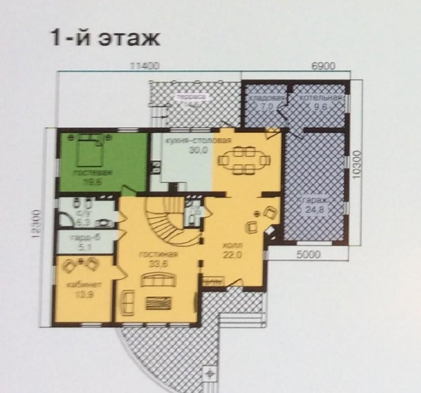 1-ый этаж