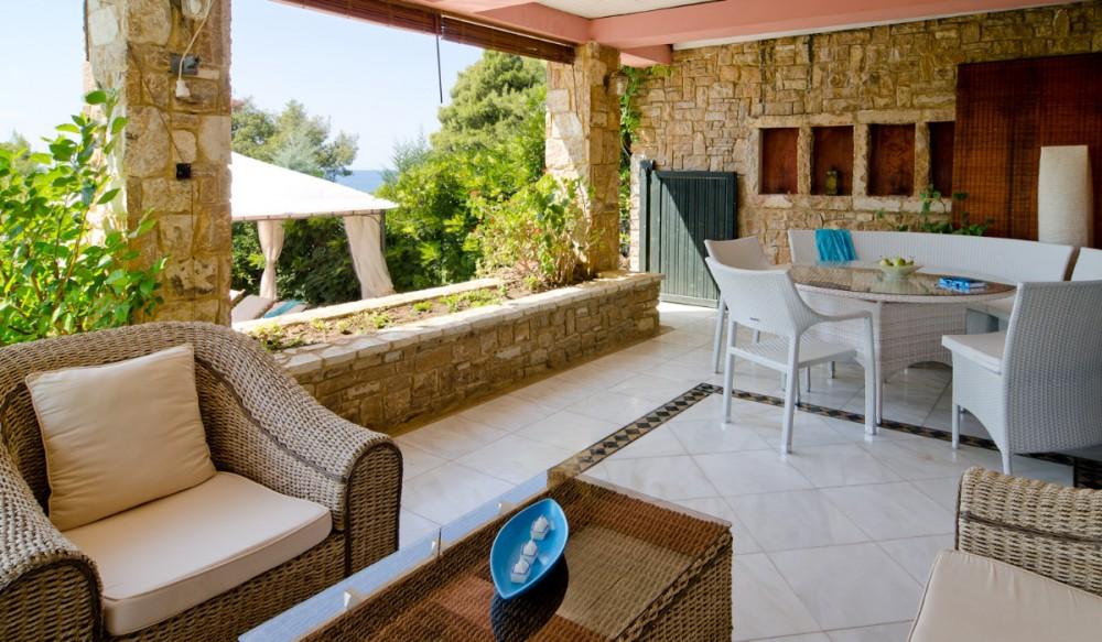 Аренда виллы в Греции полуостров Ситония