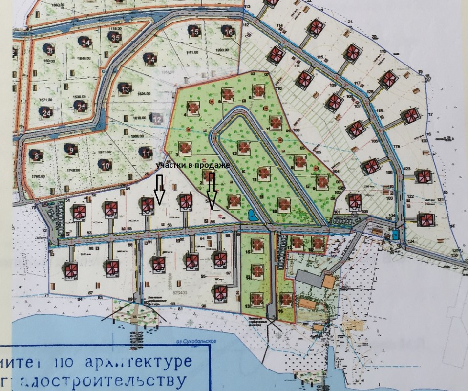 Земельный участок в посёлке Громово