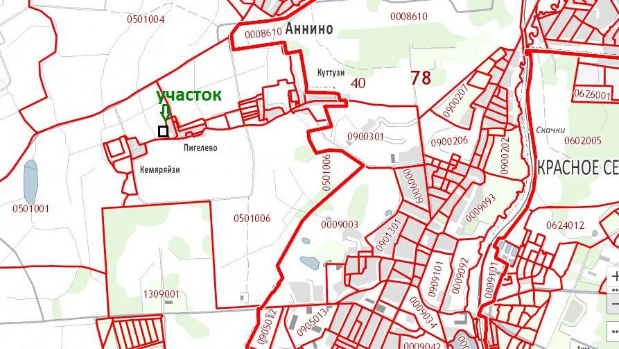 Участок в Пигелево, Аниннское с/п, Ломоносовский район