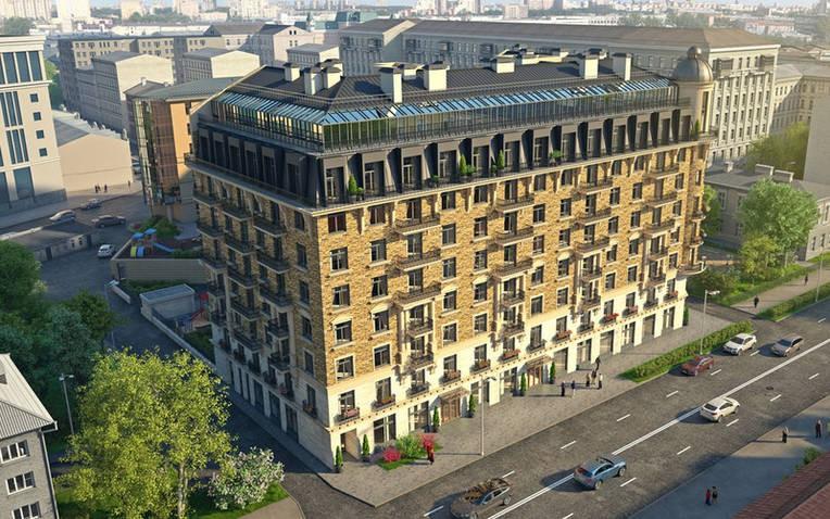 Продажа однокомнатной квартиры 60,84м на ул Кирочная д 57 в ЖК Дом на Кирочной.