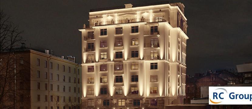 Четырёхкомнатная квартира на ул Льва Толстого д8 в ЖК Петроградец