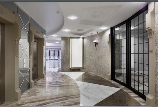 Трёхкомнатная квартира на Крестовском острове на пр Динамо д 6 ЖК Brilliant-house