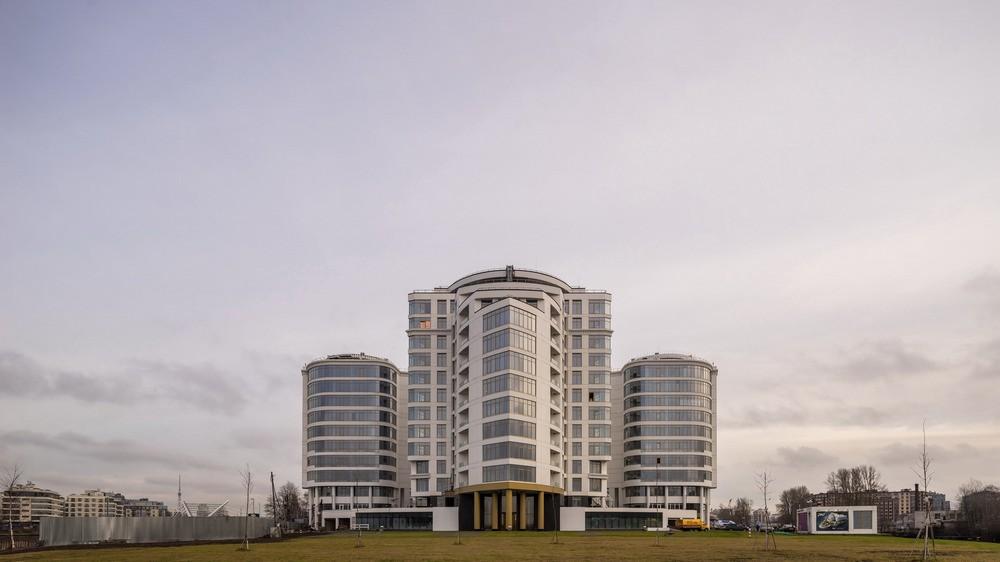 Двухкомнатная квартира на Ждановской наб д45 в ЖК Леонтьевский мыс