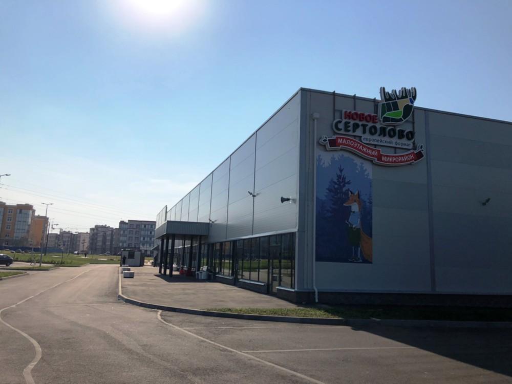 Аренда торговых помещений ТЦ Новое Сертолово