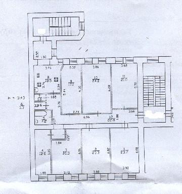 Семикомнатная квартира на 10 Красноармейской ул д13