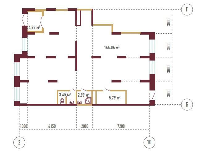 Продажа коммерческого помещения на пр.Маршала Блюхера