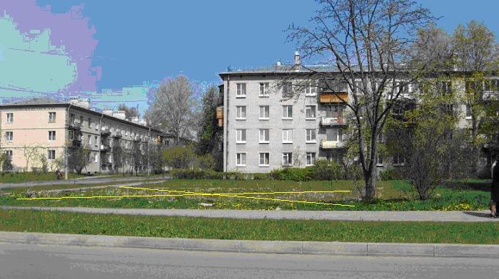 Участок ЗНП в Павловске