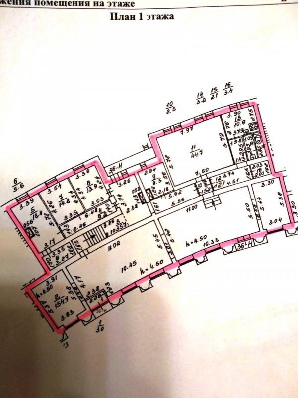 Продажа помещения на проспекте Стачек 55